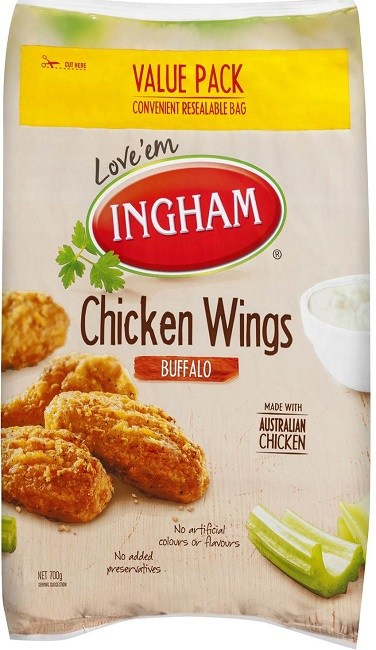 Ezees Chicken Wingz Crispy Masala 175g