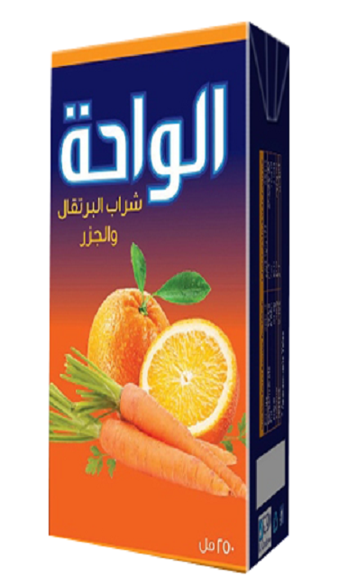 Al Waha Can 240ml Orange