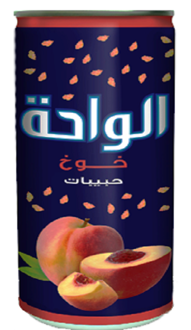 Al Waha Can 240ml Peach